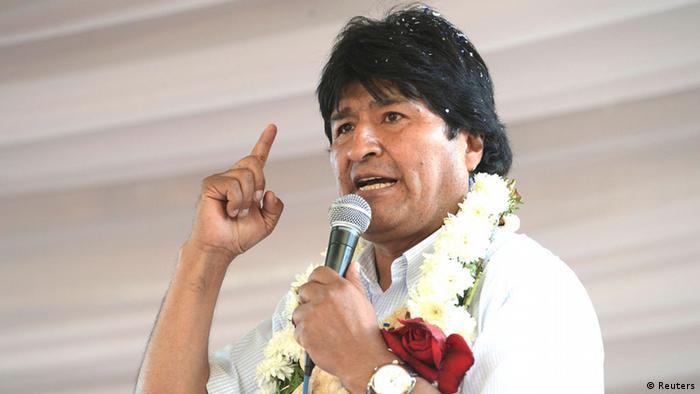 Si el resultado le es favorable, Evo Morales (foto de archivo) asumirá la jefatura de Estado por un tercer periodo consecutivo