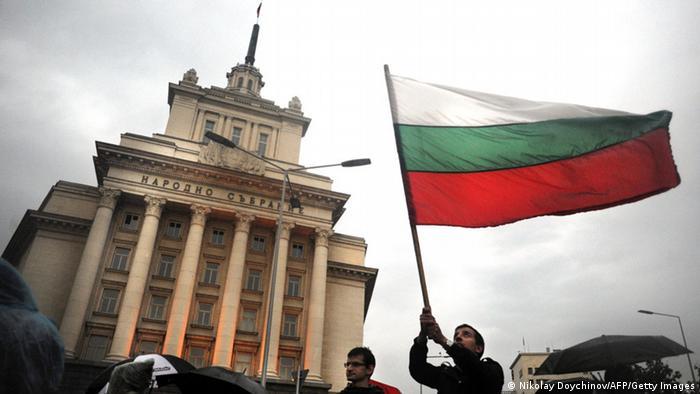 Bulgarien Demonstration Protest gegen neugewählte Regierung