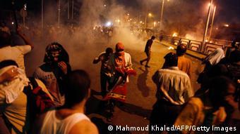 Ägypten Anhänger Mursis Zusammenstöße mit der Polizei Kairo 08.07.2013