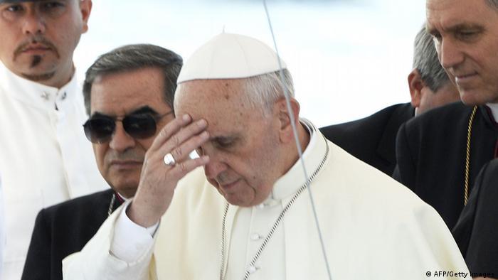 Papst Franziskus auf Lampedusa (Foto: Getty)