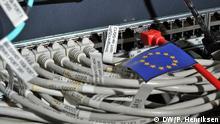 EU Netzwerkkabel Stecker gezogen