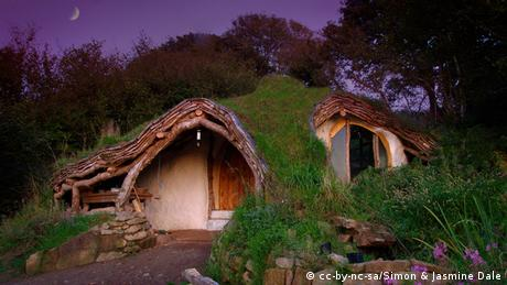 Alternative Wohnformen Hobbit Haus