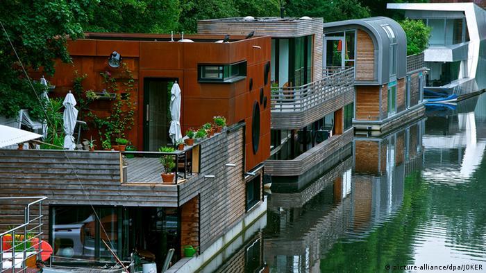 Alternative Wohnformen Hausboot