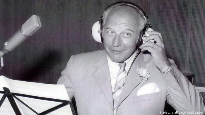 Scheel, Hoch auf dem gelben Wagen şarkısının kaydı için stüdyoda