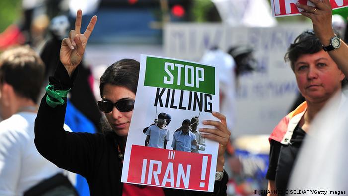 Podrška iranskoj LGBT-zajednici na prosvjedu u Berlinu