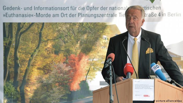 Kulturstaatsminister Bernd Neumann (Photo: Bernd von Jutrczenka/ dpa)