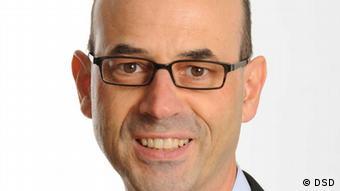 Portrait of Patrick Hasenkamp, Vice president of the Association of Local Utilities in Germany. Photo: Abfallwirtschaftsbetriebe Münster (AWM)