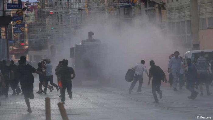 Gezi Park Istanbul Protest Gewalt