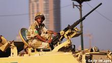 Ägypten Krise Proteste Auseinandersetzungen Islamisten 08.Juli 2013 Soldat
