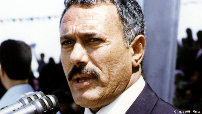 Jemen Ali Abdullah Saleh 1999 (imago/UPI Photo)