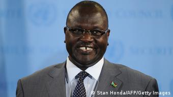 Vizepräsident Riek Machar (Foto: AFP PHOTO/Stan HONDA/Getty Images)