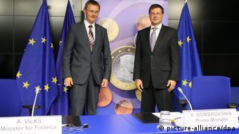 В 2014 году Латвия официально присоединилась к еврозоне