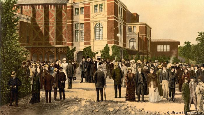Так виглядав Байройтський театр у 1897 році