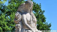 Statue der Loreley Nixe Sage Bildhauer Mariano Pinton Weltkulturerbe UNESCO
