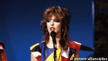 Sängerin Nena 1985