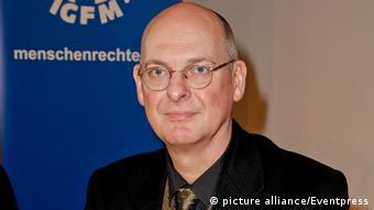 مارتین لسنتین، سخنگوی هیأت مدیره جامعه بینالمللی حقوق بشر در آلمان