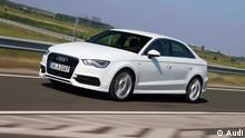 Audi A3 Limousine 2013 (c) Audi Nur für redaktionelle Zwecke zu benutzen.