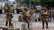 Ägypten Milität Kairo