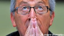 Luxemburgs Premierminister Jean-Claude Juncker