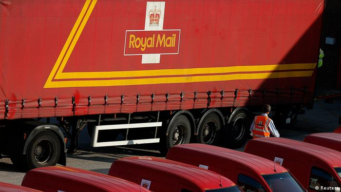 Royal Mail car park