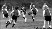 Frauenfußball historisch DDR Mannschaft