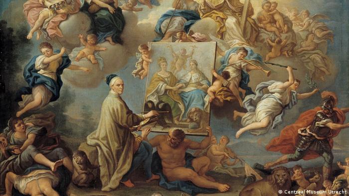Allegorie auf den Frieden von Utrecht von Paolo de Matteis