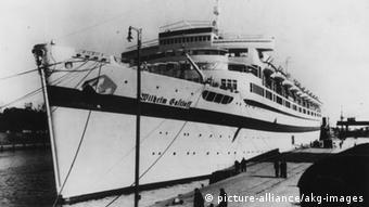 Brod u organizaciji KdF-a.