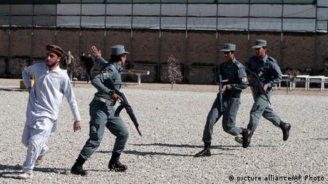 Afghanistan Polizei Ausbildung (picture alliance/AP Photo)