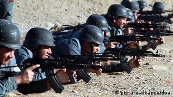 Afghanistan Polizei Ausbildung