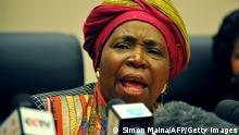 AU Präsidentin Nkosazana Dlamini-Zuma Archiv 16.07.2012