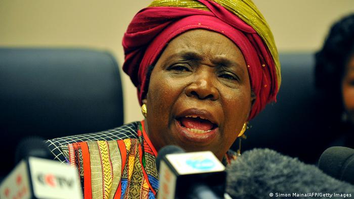 AU Präsidentin Nkosazana Dlamini-Zuma