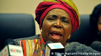 AU Präsidentin Nkosazana Dlamini-Zuma Archiv 16.07.2012 (Simon Maina/AFP/Getty Images)