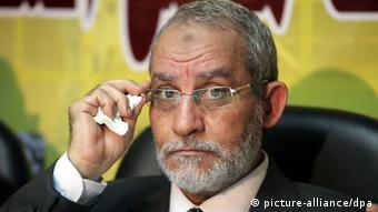 Untergetaucht: Mohammed Badie, Oberhaupt der Muslimbrüder (Foto: KHALED EL FIQI/dpa)