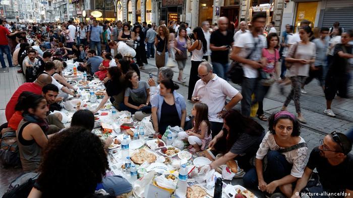 Türkei Muslime Ramadan