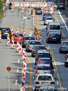 Banyak jalanan di Jerman sangat membutuhkan perbaikan