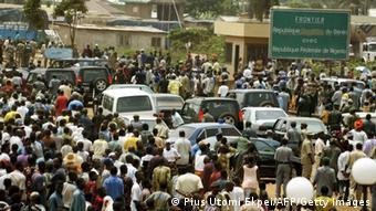 Grenze Nigeria Benin