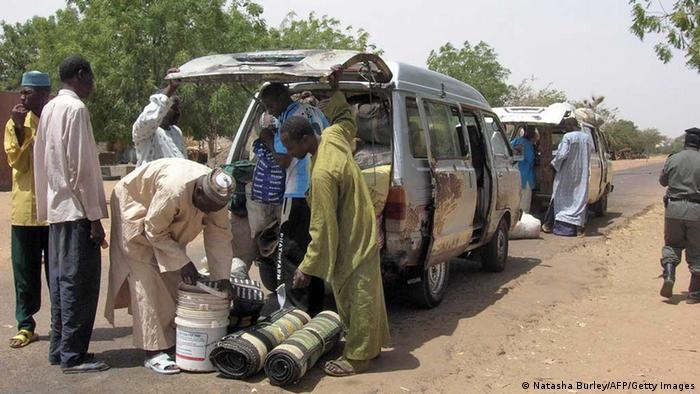 Grenze Nigeria Kontrolle NATASHA BURLEY/AFP/Getty Images)