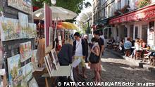 Bildergalerie beliebte Reiseziele Frankreich Paris Montmartre
