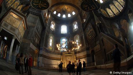 Собор Святой Софии изнутри