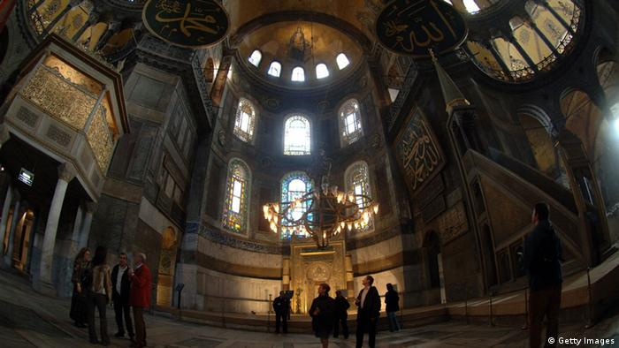 Innenraum der Hagia Sophia - Foto: Burak Kara/Getty Images