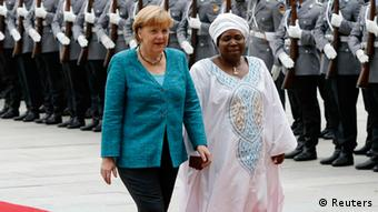 Angela Merkel Dlamini Zuma (Reuters)