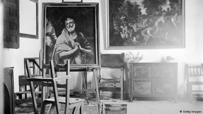 El Greco Atelier des Malers in Toledo