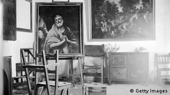 Το ατελιέ του ζωγράφου στο Τολέδο της Ισπανίας