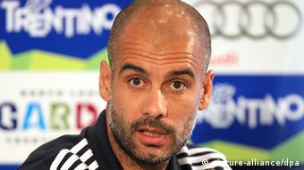 FC Bayern Trainer Pep Guardiola