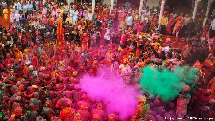 Bildergalerie Holi Fest Indien 2013 (Sanjay Kanojia/AFP/Getty Images)