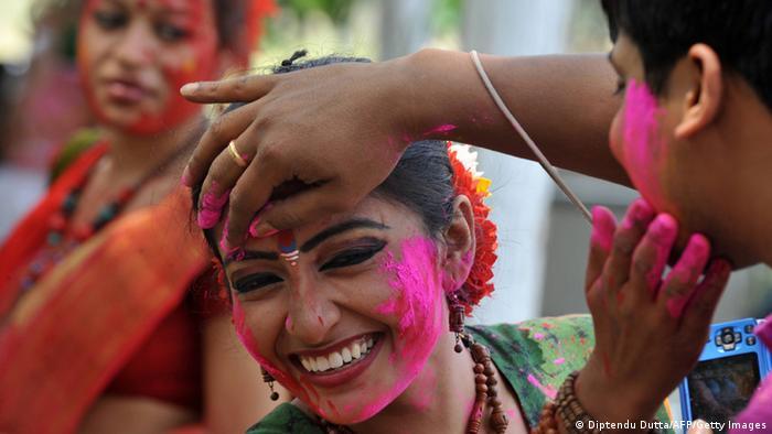 Holi Fest in Indien 2013 Foto: AFP/Getty Images