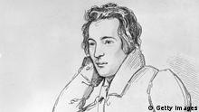 One of Germany's greatest poets, Heinrich Heine (1797 - 1856). Original Artwork: Drawing by E Mandel after a painting by F Kugler. (Photo by Hulton Archive/Getty Images)