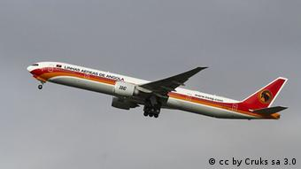 Flugzeug der TAAG Angola Airlines