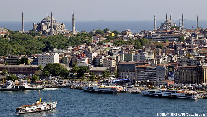 Bildergalerie beliebte Reiseziele Türkei Istanbul Hagia Sophia