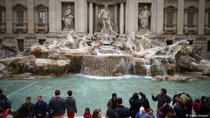 Vara, aglomerația și căldura din Roma sunt aproape de nesuportat